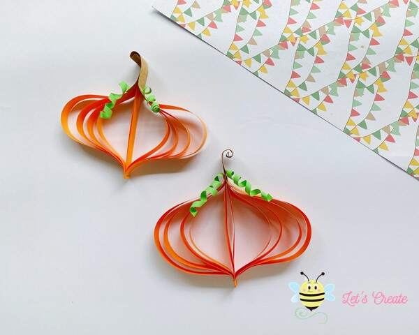 How To Make Paper Pumpkin Craft for Kids (+ Free Template)
